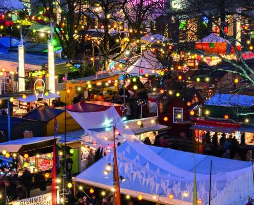 Schwabinger Weihnachtsmarkt Kulturwunschbaum