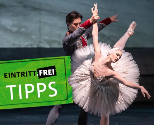 Zwei Ballett-Tänzer