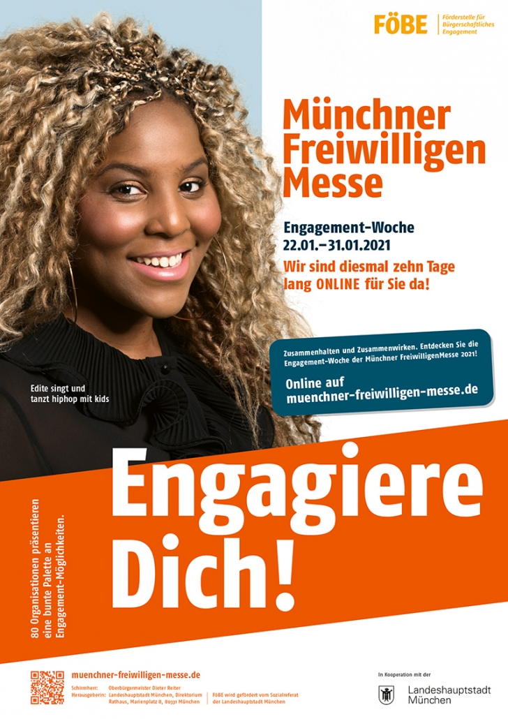 Plakat FreiwilligenMesse