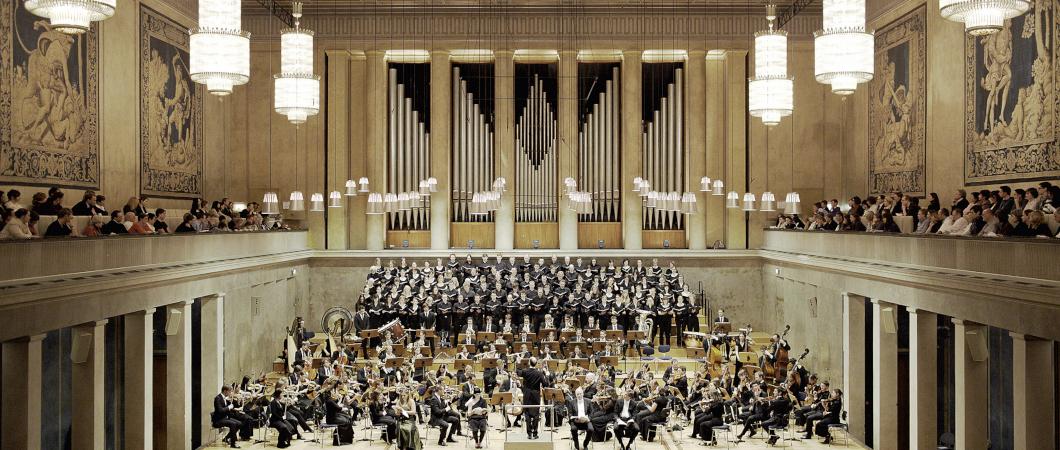 Orchester im Herkulessaal